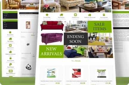 eBay Shop Design